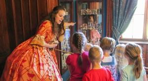 Prohlídky s princeznou školní výlety